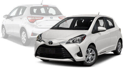 Location voiture Toyota Yaris Casablanca